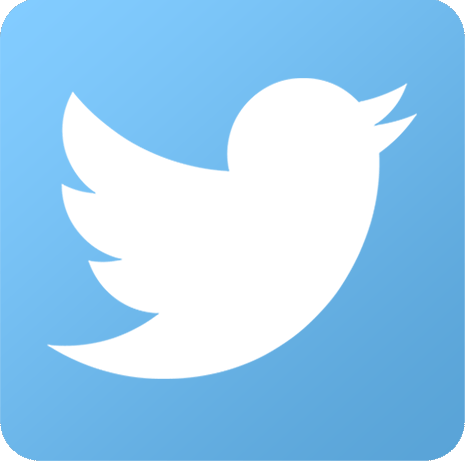 Twitter logo and link to Katrina's Twitter page